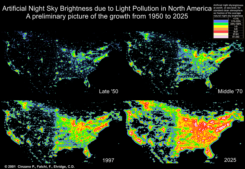 Light Pollution - Mike Lincoln Photography on
